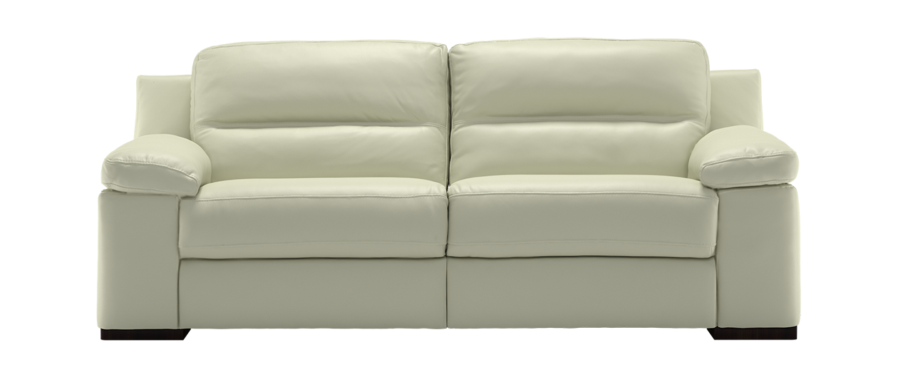 Corrected Grain Leather Sofa Images. Vintage Chrome ...